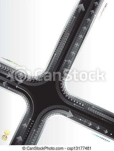 背景, 技術, 抽象的 - csp13177481
