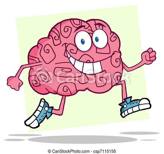 脳, 動くこと - csp7115158