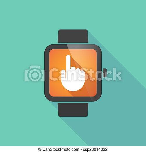 腕時計, 痛みなさい, 指すこと, 手 - csp28014832