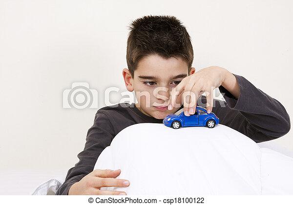 自動車, 子供 - csp18100122