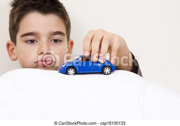 自動車, 子供 - csp18100133
