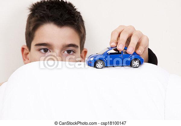 自動車, 子供 - csp18100147