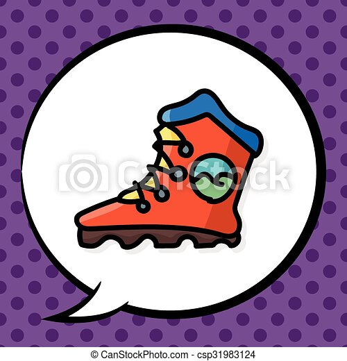 色, いたずら書き, スケート, ローラー - csp31983124