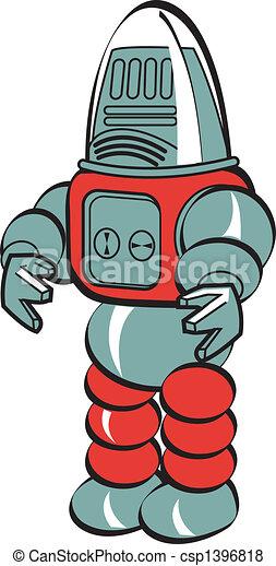 芸術, ロボット, クリップ - csp1396818