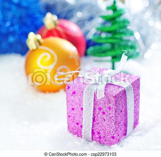 装飾, クリスマス - csp22973103