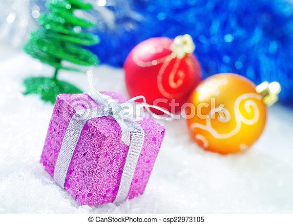 装飾, クリスマス - csp22973105