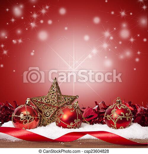 装飾, 資金, 伝統的である, クリスマス, ホリデー - csp23604828