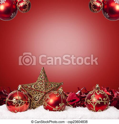 装飾, 資金, 伝統的である, クリスマス, ホリデー - csp23604838
