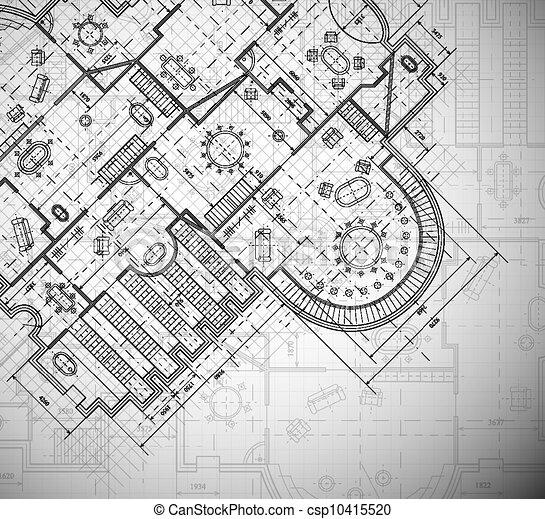 計画, 建築である - csp10415520