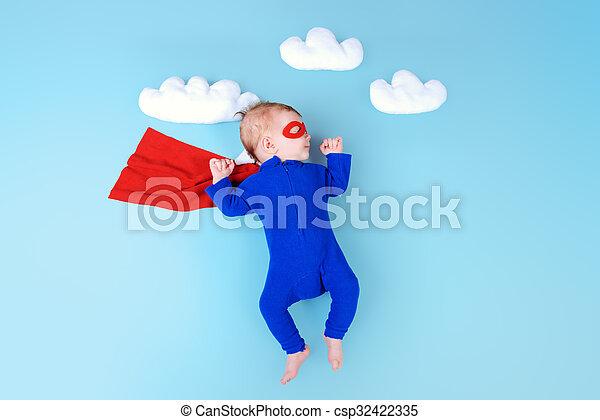 赤ん坊, 英雄 - csp32422335