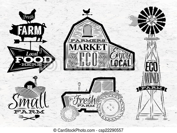 農場, 型 - csp22290557
