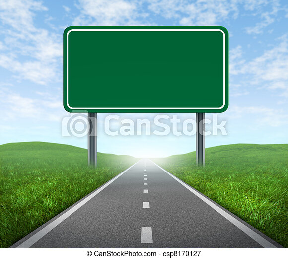 道, ハイウェーの 印 - csp8170127
