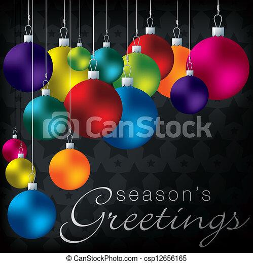 陽気, christmas! - csp12656165