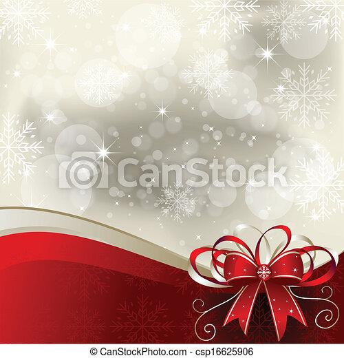 -, 背景, クリスマス, イラスト - csp16625906