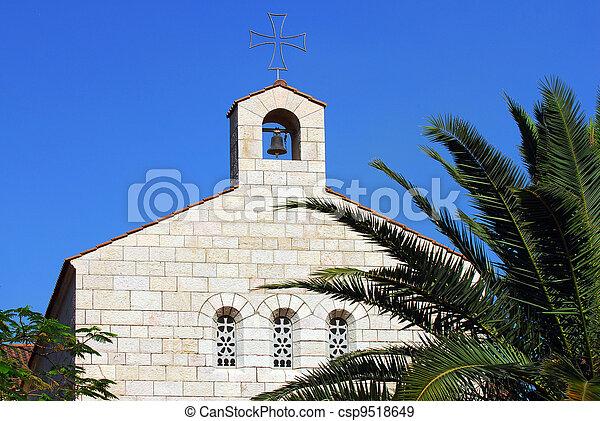 -, nahum, kfar, イスラエル, capernaum - csp9518649
