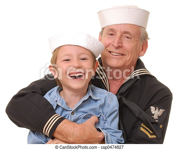 9, 船員, 息子 - csp0474827