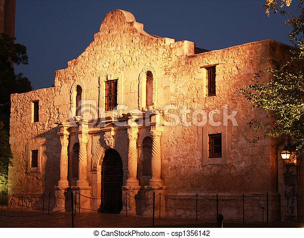 alamo, antonio, san, テキサス - csp1356142