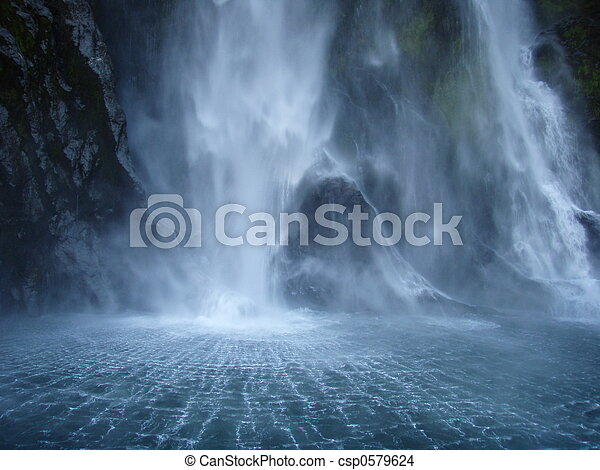 backdraft, 滝 - csp0579624