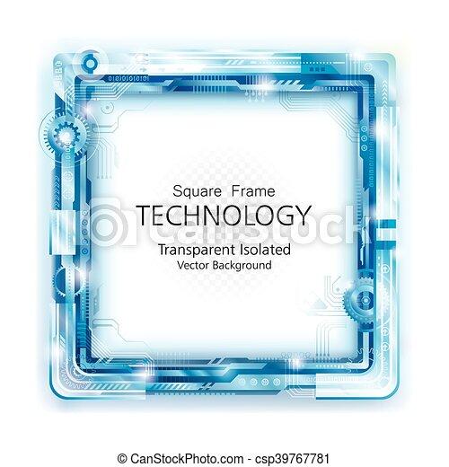 backgroun, 抽象的, 技術, フレーム - csp39767781