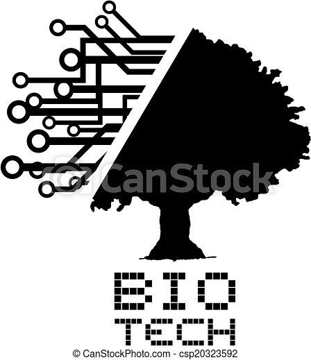bio, 技術, 木 - csp20323592