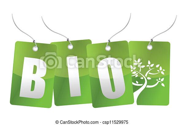 bio, 木, イラスト, タグ - csp11529975