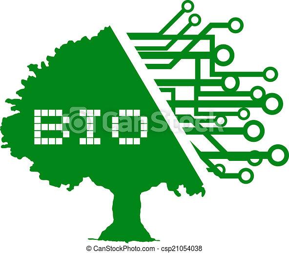 bio, 木 - csp21054038