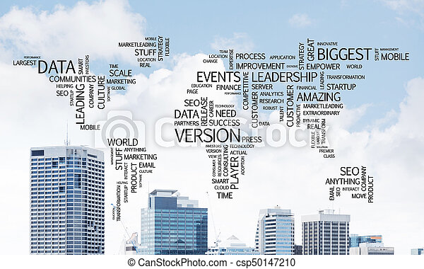 globalization, concept., ビジネス - csp50147210