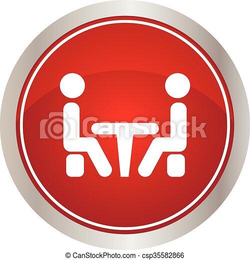 icon., 会議 - csp35582866