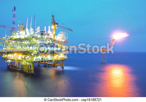platform., ガス, オイル - csp16188721