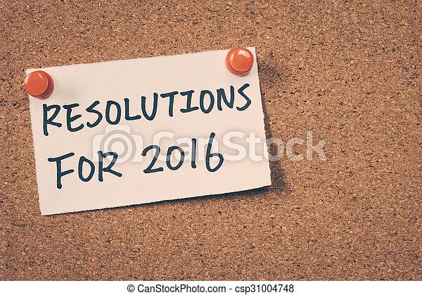 resolutions, 2016 - csp31004748