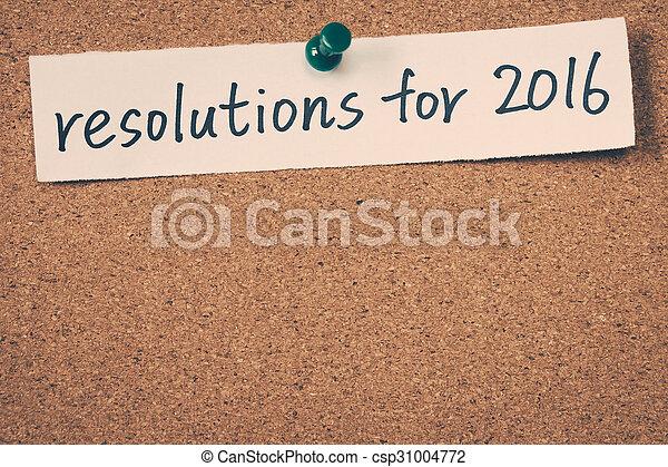 resolutions, 2016 - csp31004772