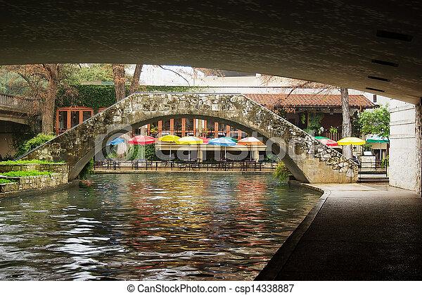 riverwalk, サン・アントニオ - csp14338887