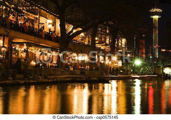 san, riverwal, antonio - csp0575145