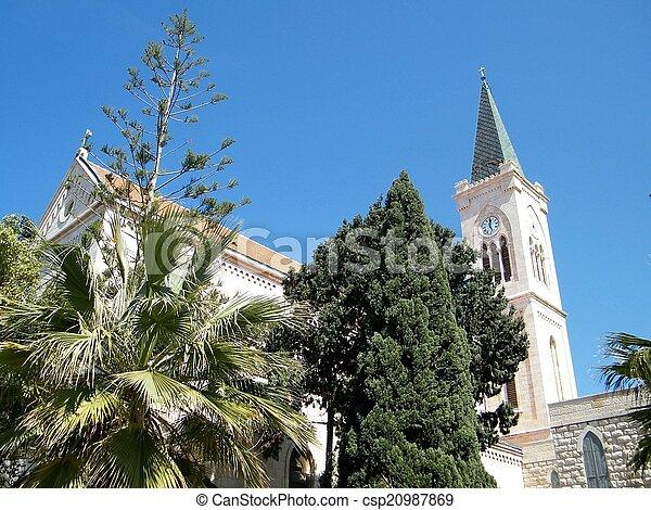 st. 。, franciscan, 教会, jaffa, アンソニー, 2011 - csp20987869