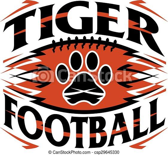 tiger, フットボール - csp29645330