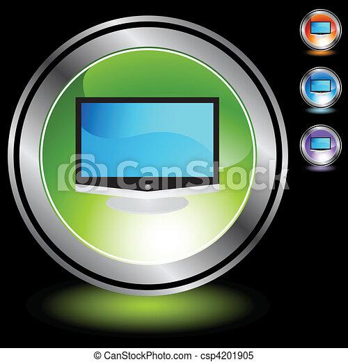 tv, 平らなスクリーン - csp4201905
