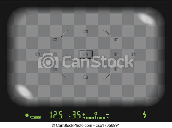 viewfinder, 3d - csp17656991